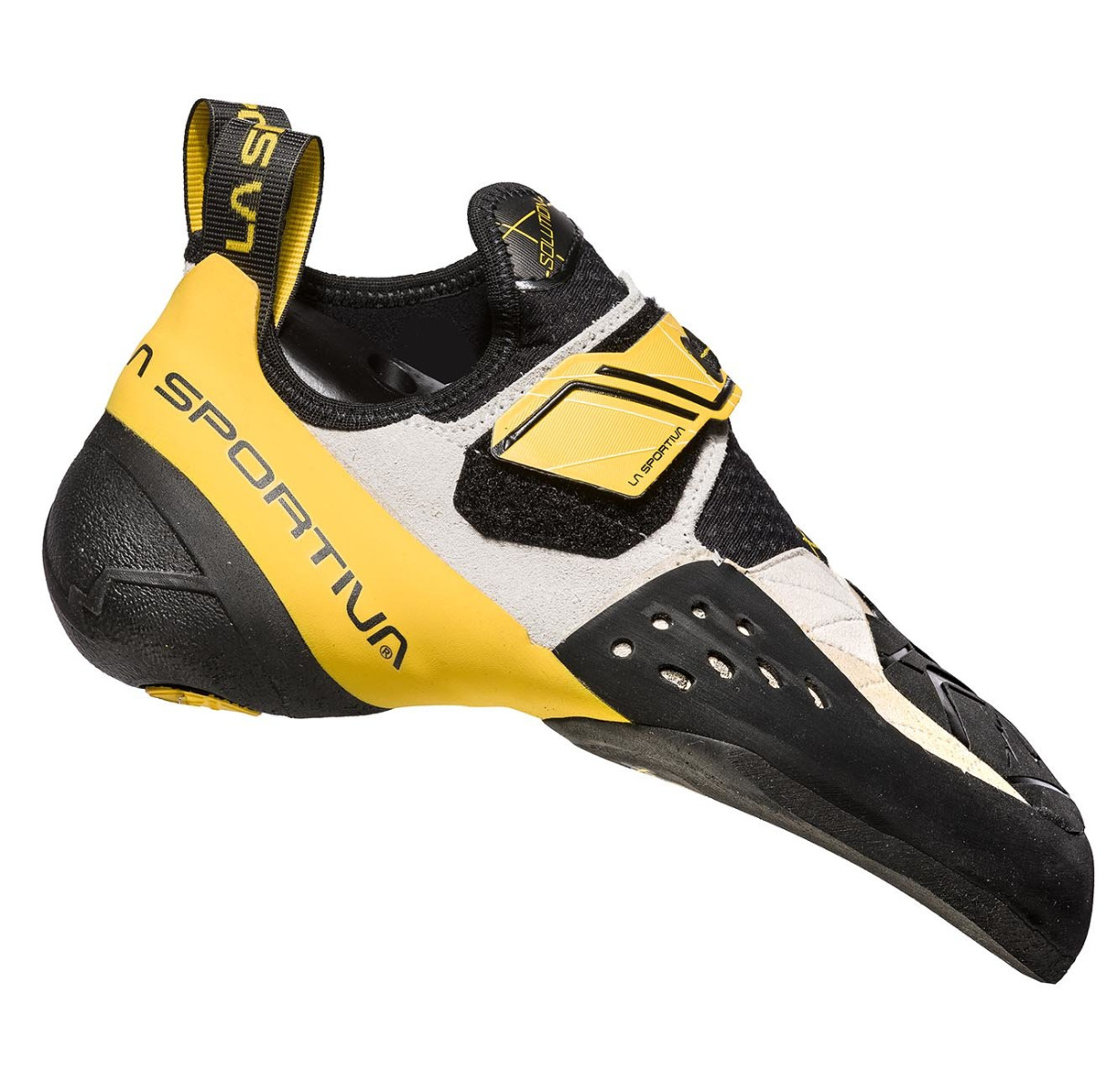 LA SPORTIVA La Sportiva Solution white / yellow 45