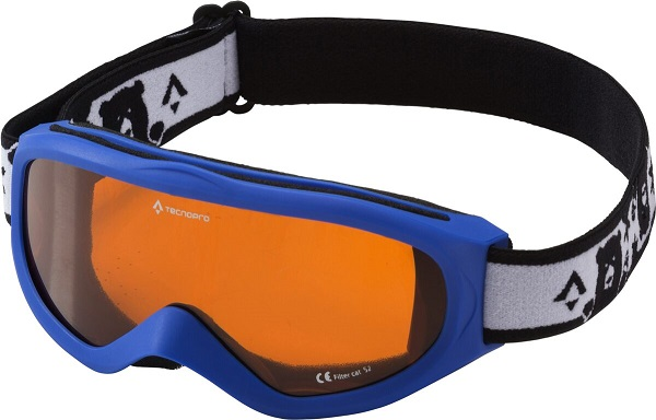 TECNOPRO Skibrille Snowfoxy Jr. 901 PINK/WEISS -