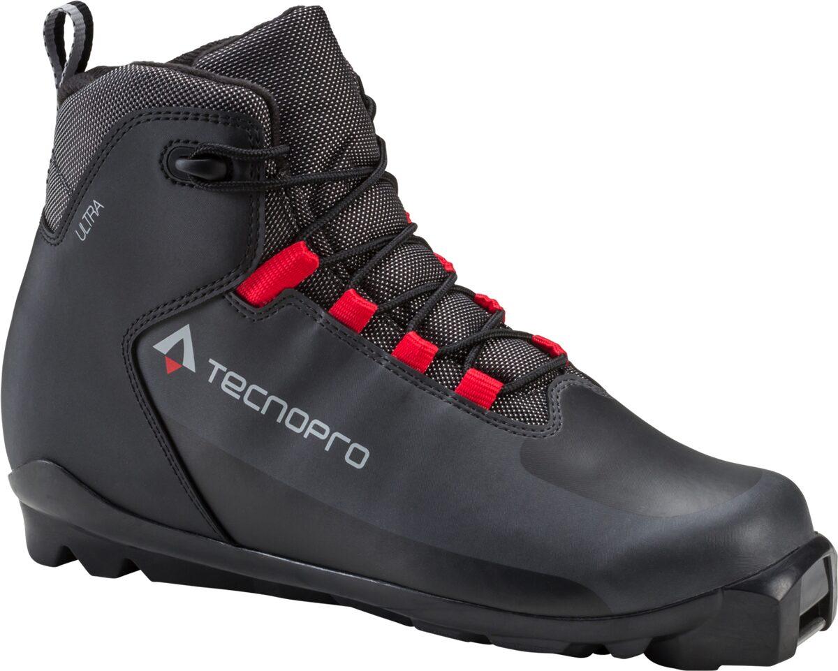 TECNOPRO LL-Schuh Ultra 900 SCHWARZ/GRAU/ROT 4,5