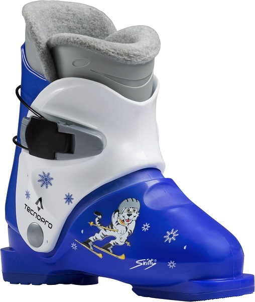 TECNOPRO Ski-Stiefel Skitty Jr. 900 BLAU/WEISS 15,5