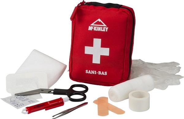 McKINLEY Erste Hilfe Set SANI-BAS 251 ROT -