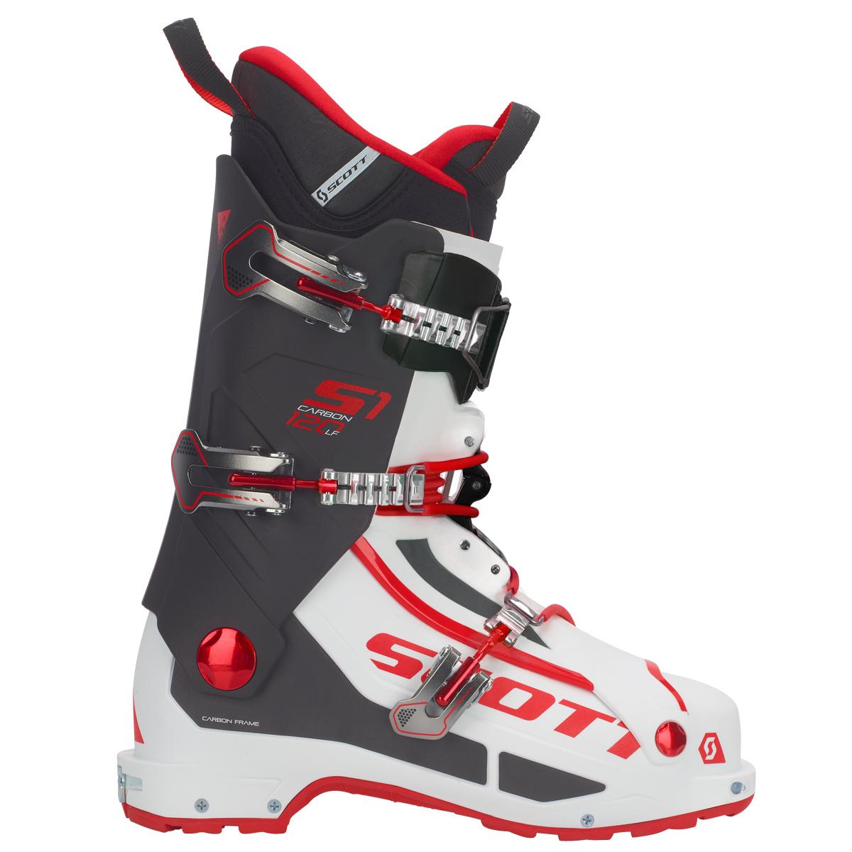 SCOTT SCO Boot S1 Carbon Longfiber 1030 white/red 28,5