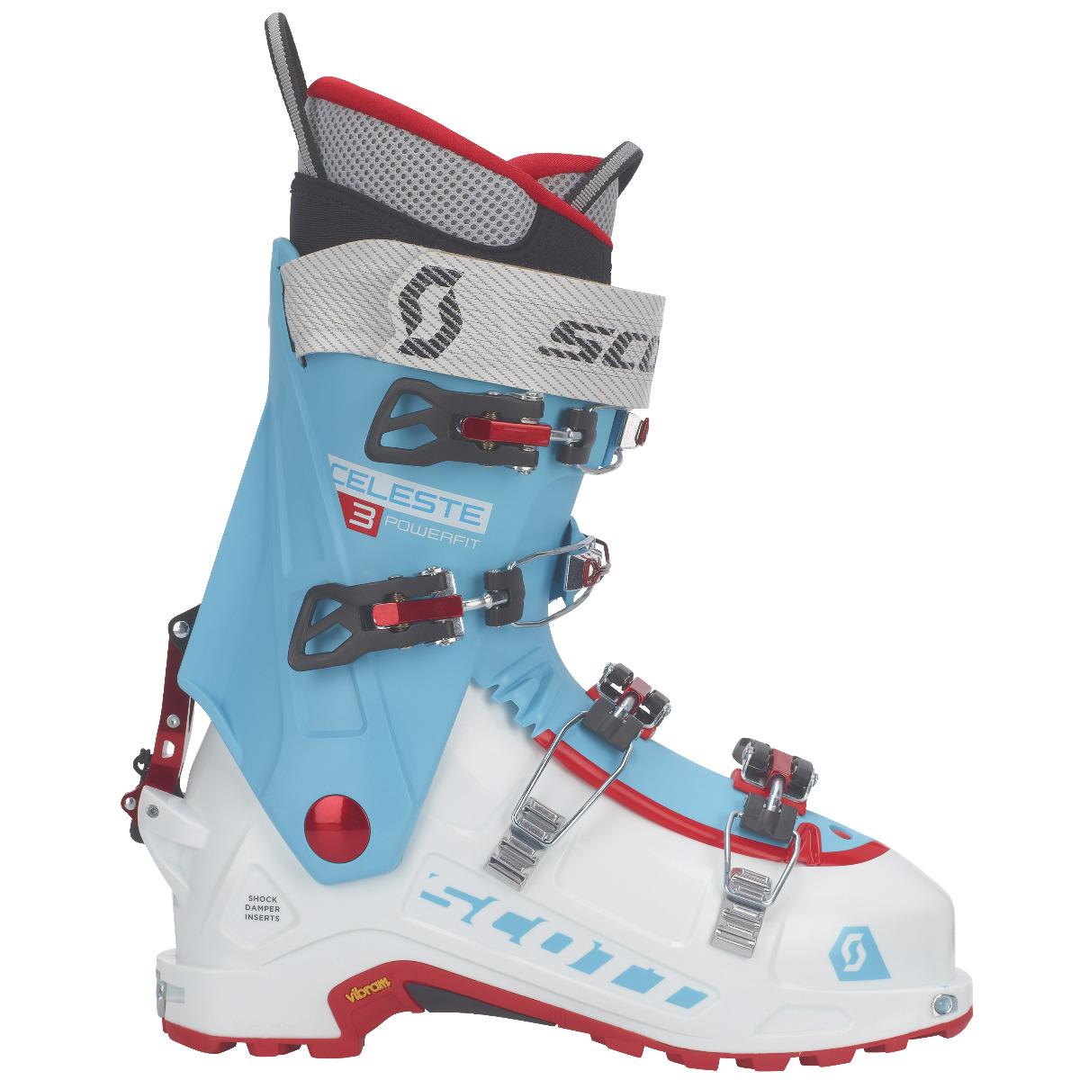 SCOTT SCO Boot W's Celeste III 5235 white/bermuda blue 27