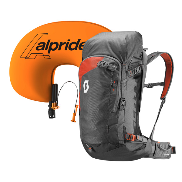 SCOTT SCO Pack Backcountry Guide AP  5237 dark grey/burnt orange -