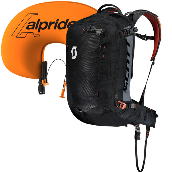 SCOTT SCO Pack Backcountry Guide AP  5227 black/burnt orange -