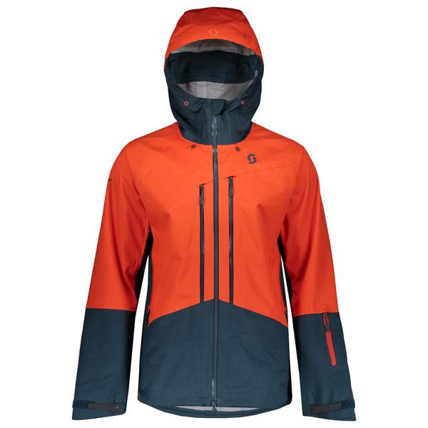 SCOTT SCO Jacket Explorair 3L 5929 tangerine orange/nightfal L