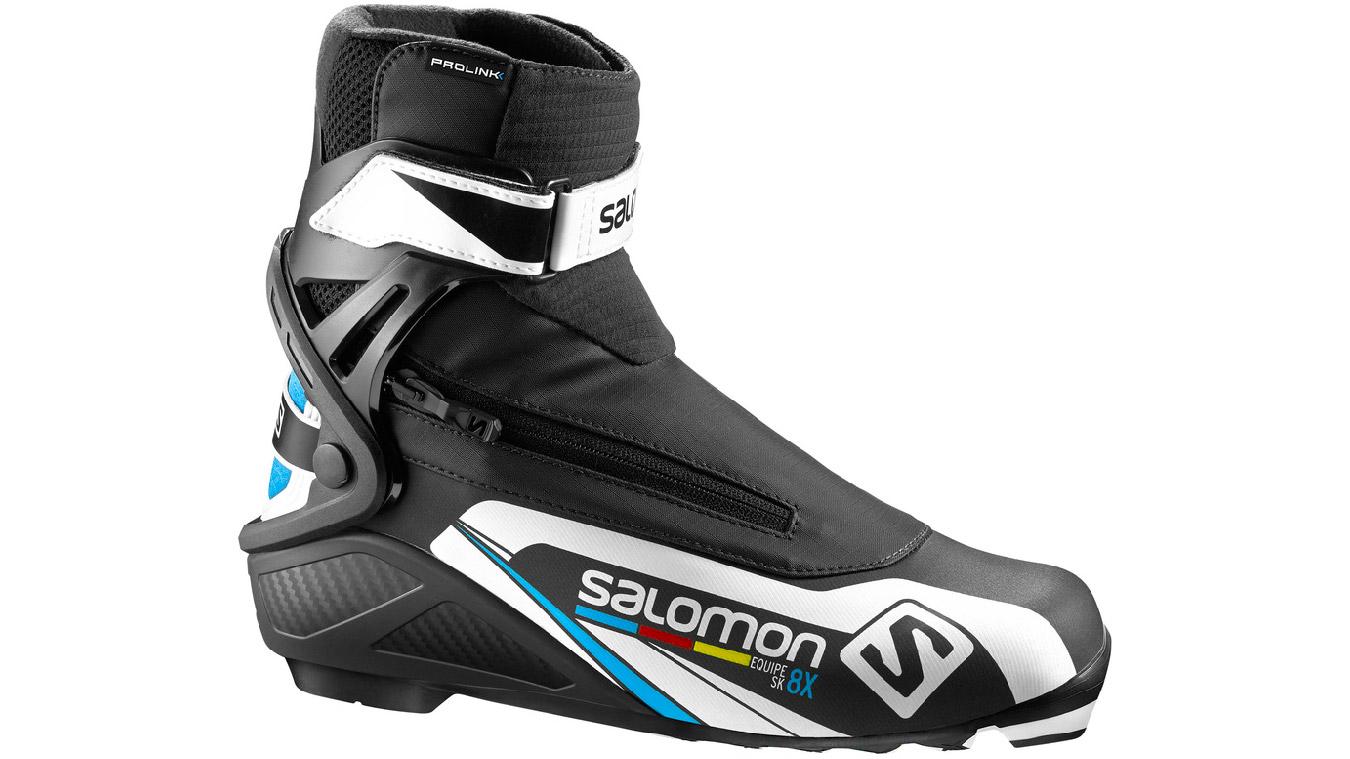 SALOMON EQUIPE 8X SKATE 000 Black 8,5