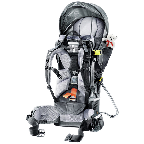 DEUTER Kid Comfort III 7410 black-granite -