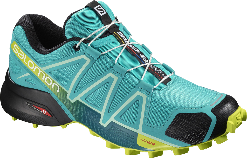 SALOMON SPEEDCROSS 4 W 0 BLUEBIRD/ACID LIME/BLACK 5