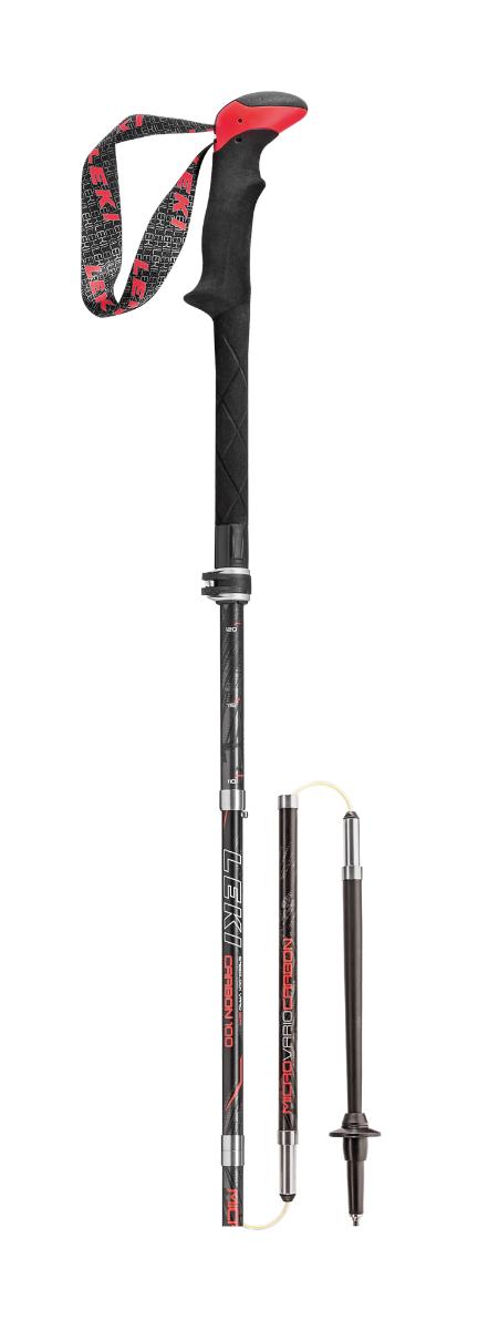 LEKI Micro Vario Carbon 099 mehrfarbig 130