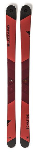 BLIZZARD BONAFIDE (FLAT) 001 RED 180