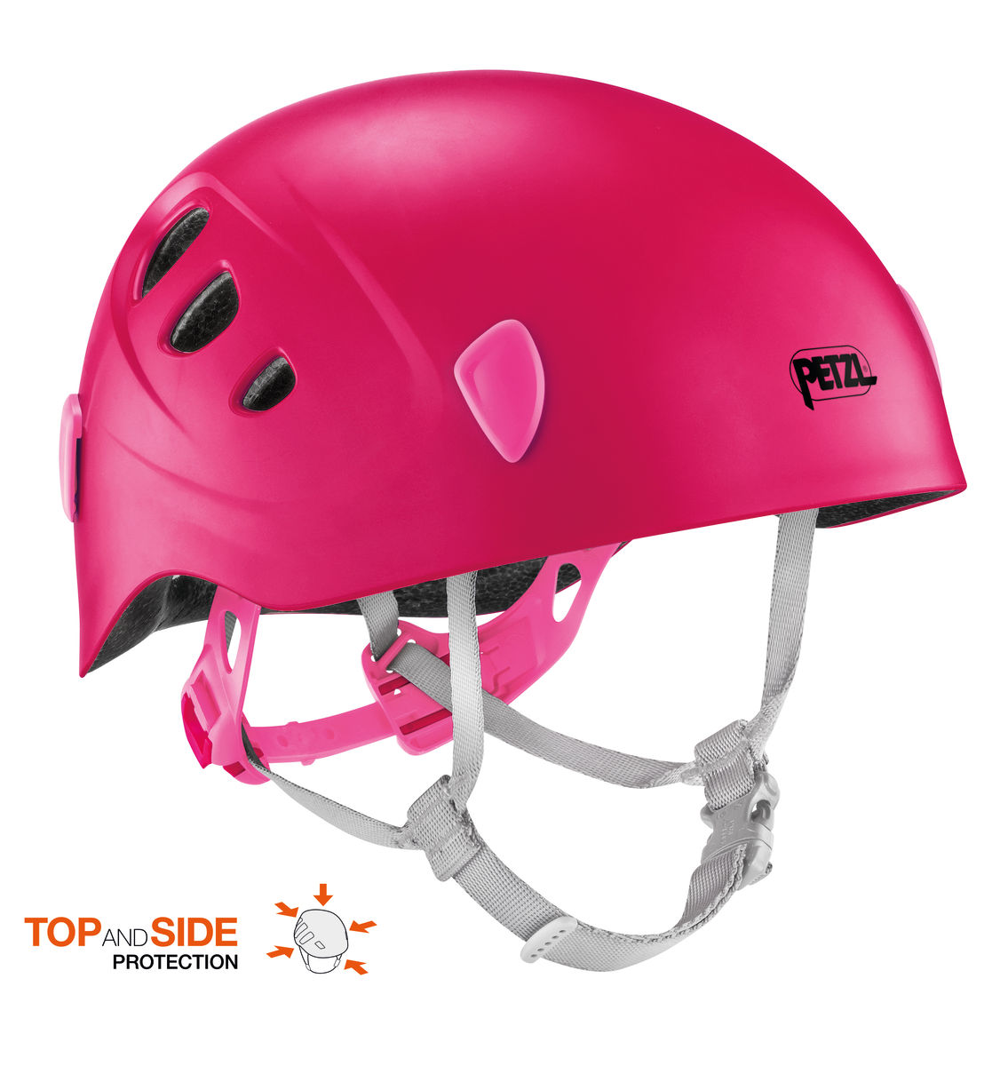 PETZL Picchu Kinderhelm orange -