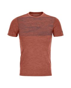 120 Cool Tec Wood T-Shirt Herren