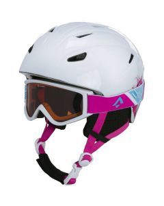 Pulse JR HS-016 + Free Skihelm Kinder