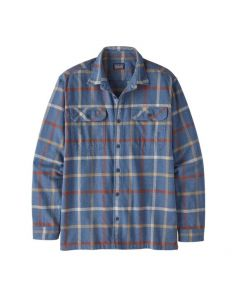 Long-Sleeved Organic Cotton Midweight Fjord Flannel Shirt Herren