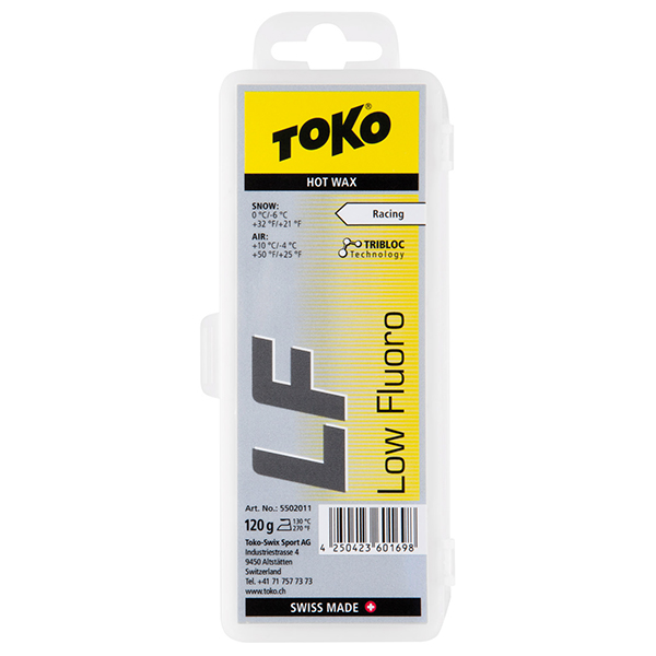 TOKO LF Hot Wax red 120g 0000 red -