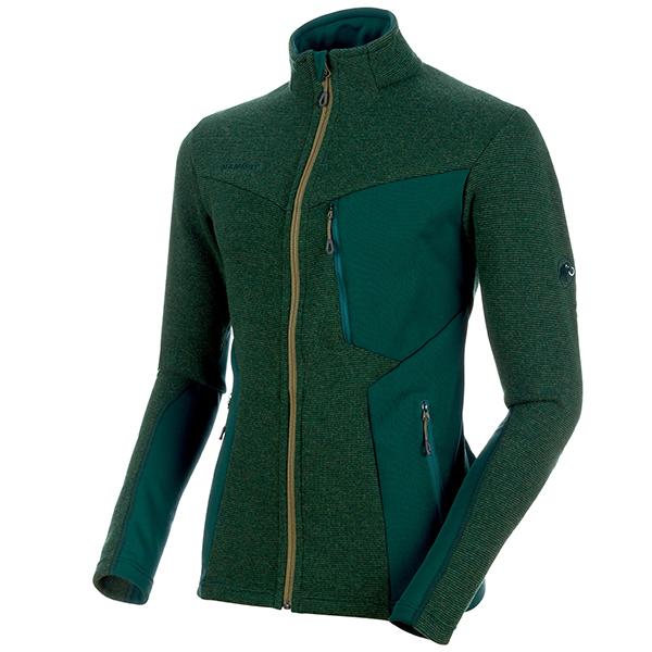 MAMMUT Stoney ML Wool Jacket Men 40014 dark teal-clover melange L
