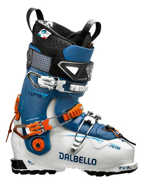 DALBELLO LUPO AX 110 W UNI, WHITE/CELES 0 - 24,5