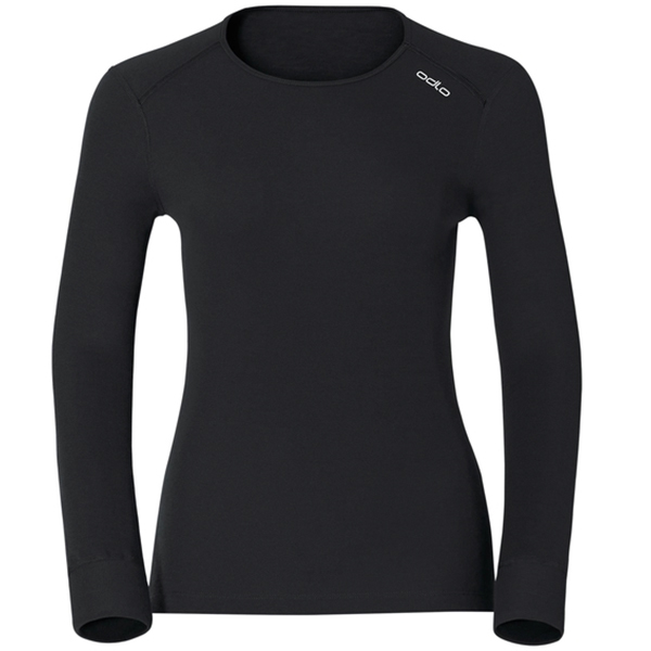 ODLO SHIRT L/S CREW NECK ACTIVE ORI 15000 black XS
