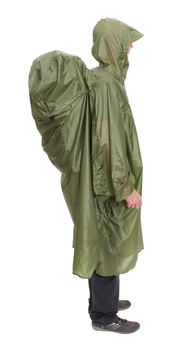 EXPED EXPED Pack Poncho UL S green -