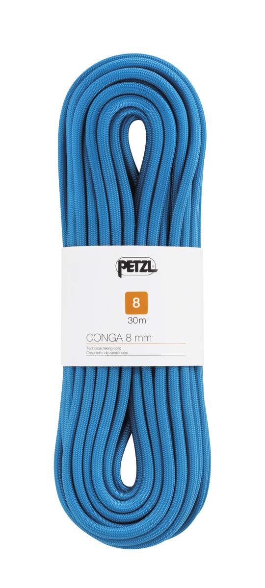 PETZL Petzl Conga 8mm Reepschnur zum Wand blau 20