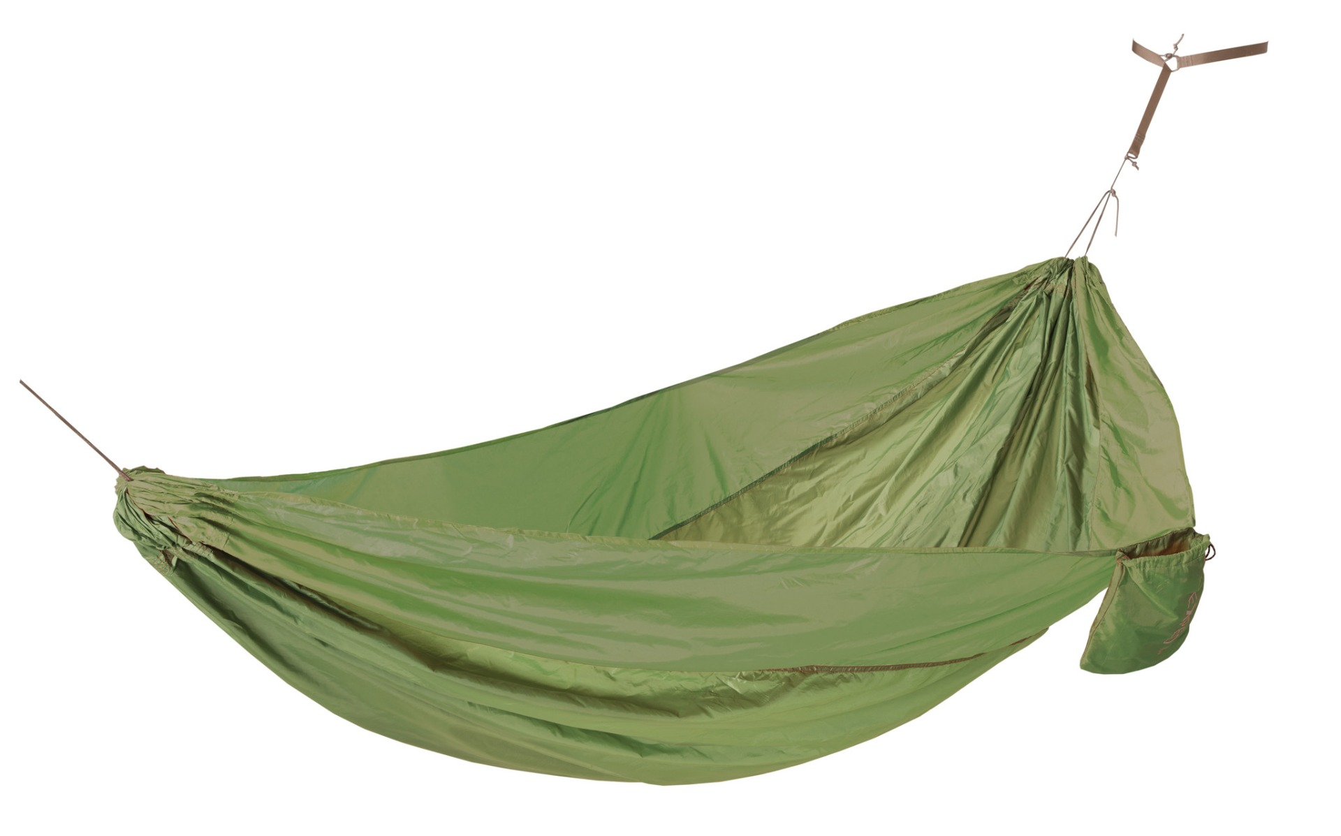 EXPED EXPED Travel Hammock Duo Plus mossgreen-terracot -