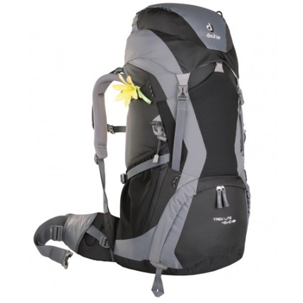 DEUTER Trek Lite 45 + 10 SL 7490 black-titan -